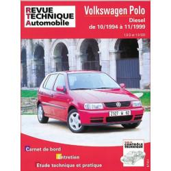 REVUE TECHNIQUE VOLKSWAGEN POLO DIESEL de 1994 à 1999 - RTA 611 Librairie Automobile SPE 9782726861110