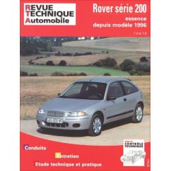 REVUE TECHNIQUE ROVER 200 ESSENCE DEPUIS 1996 - RTA 612 Librairie Automobile SPE 9782726861219