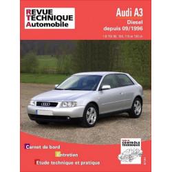 REVUE TECHNIQUE AUDI A3 DIESEL DEPUIS 1996 - RTA 616 Librairie Automobile SPE 9782726861615