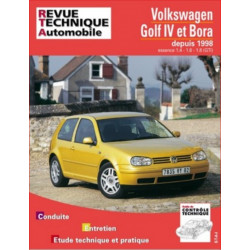 REVUE TECHNIQUE VOLKSWAGEN GOLF IV et BORA DEPUIS 1998 - RTA 618 Librairie Automobile SPE 9782726861813