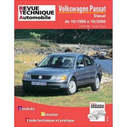 REVUE TECHNIQUE VOLKSWAGEN PASSAT DIESEL de 1996 à 2000 - RTA 625 Librairie Automobile SPE 9782726862513