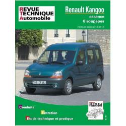 REVUE TECHNIQUE RENAULT KANGOO ESSENCE - RTA 632 Librairie Automobile SPE 9782726863213