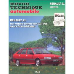 REVUE TECHNIQUE RENAULT 21 ET NEVADA ESSENCE - RTA 710 Librairie Automobile SPE 9782726871027