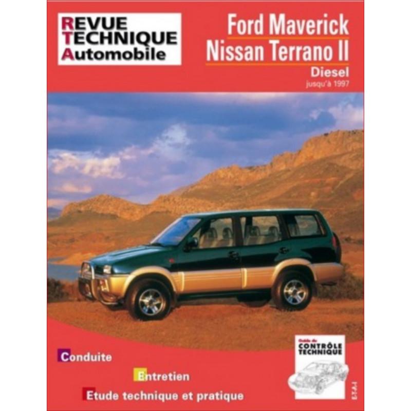REVUE TECHNIQUE NISSAN TERRANO II DIESEL - RTA 586 Librairie Automobile SPE 9782726858615