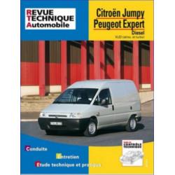REVUE TECHNIQUE CITROEN JUMPY DIESEL - RTA 590 Librairie Automobile SPE 9782726859018