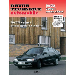 REVUE TECHNIQUE TOYOTA CARINA ESSENCE et DIESEL - RTA 591 Librairie Automobile SPE 9782726859117