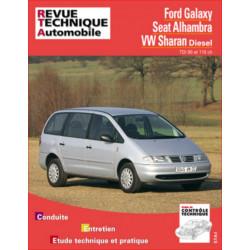 REVUE TECHNIQUE VOLKSWAGEN SHARAN DIESEL - RTA 599 Librairie Automobile SPE 9782726859919