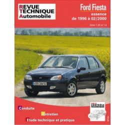 REVUE TECHNIQUE FORD FIESTA ESSENCE de 1996 à 2000 - RTA 600 Librairie Automobile SPE 9782726860014