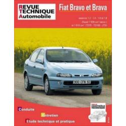REVUE TECHNIQUE FIAT BRAVO et BRAVA ESSENCE et DIESEL - RTA 585 Librairie Automobile SPE 9782726858516