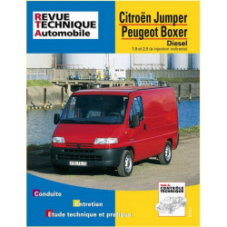 REVUE TECHNIQUE CITROEN JUMPER I DIESEL - RTA 583 Librairie Automobile SPE 9782726858318