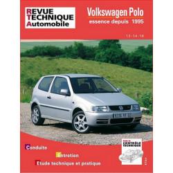 REVUE TECHNIQUE VOLKSWAGEN POLO ESSENCE de 1995 à 1999 - RTA 579 Librairie Automobile SPE 9782726857915
