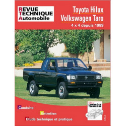 REVUE TECHNIQUE TOYOTA HILUX 4X4 DIESEL de 1989 à 1995 - RTA 575 Librairie Automobile SPE 9782726857519