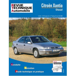 REVUE TECHNIQUE CITROEN XANTIA DIESEL - RTA 568 Librairie Automobile SPE 9782726856819