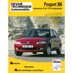 REVUE TECHNIQUE PEUGEOT 306 ESSENCE JUSQU'A 2000 - RTA 565 Librairie Automobile SPE 9782726856512