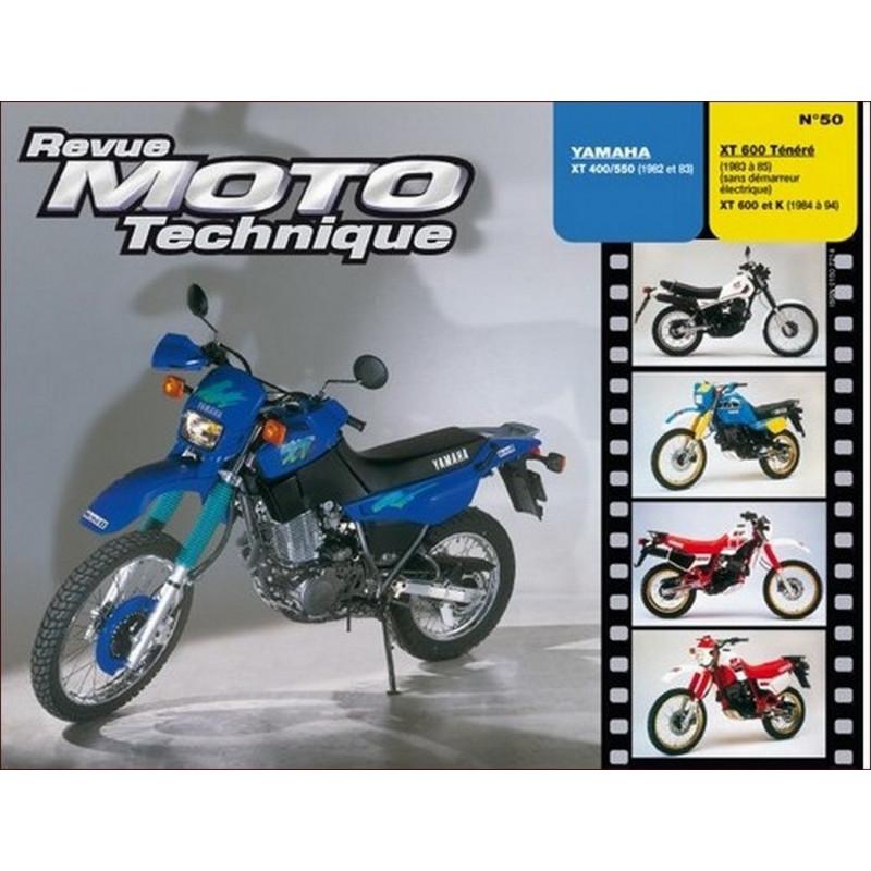 REVUE MOTO TECHNIQUE YAMAHA XT 400 et 550 de 1982 et 1983 - RMT 50 Librairie Automobile SPE 9782726891254