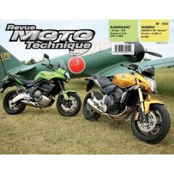 REVUE MOTO TECHNIQUE KAWASAKI 650 VERSYS de 2007 et 2008 - RMT 150 Librairie Automobile SPE 9782726892510