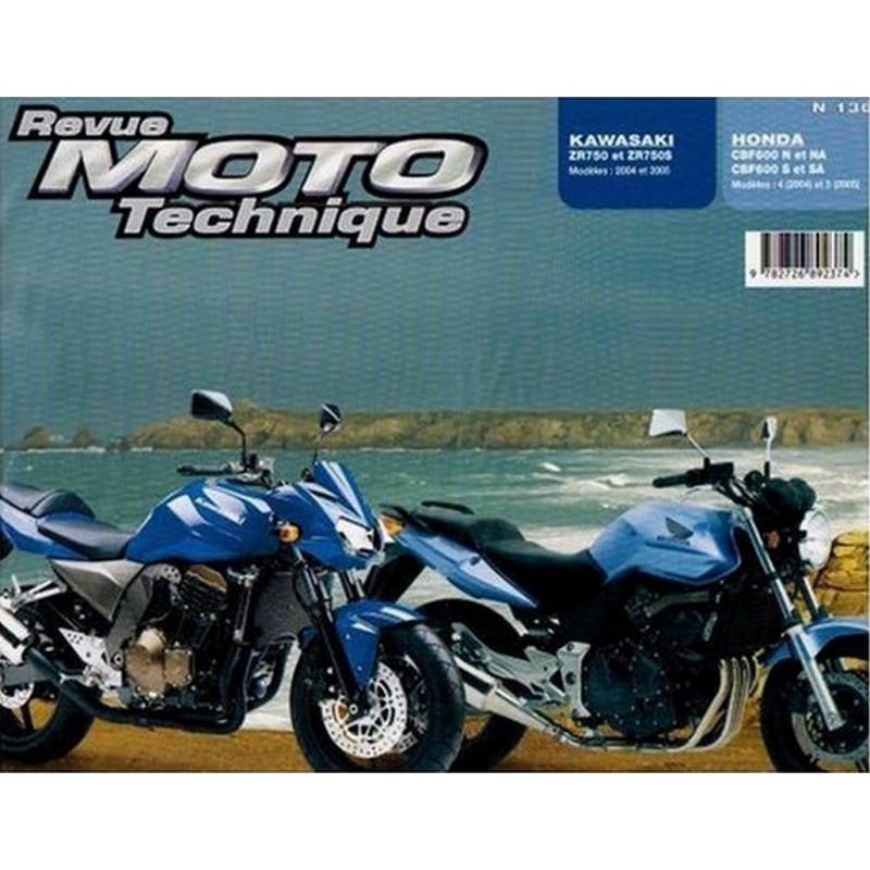 REVUE MOTO TECHNIQUE KAWASAKI ZR 750 de 2004 et 2005 - RMT 136 Librairie Automobile SPE 9782726892374