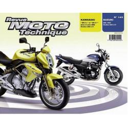 REVUE MOTO TECHNIQUE KAWASAKI ER-6 de 2006 et 2007 - RMT 143 Librairie Automobile SPE 9782726892442