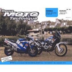 REVUE MOTO TECHNIQUE SUZUKI GSX-R 1100 de 1993 à 1997 - RMT 91 Librairie Automobile SPE 9782726890851