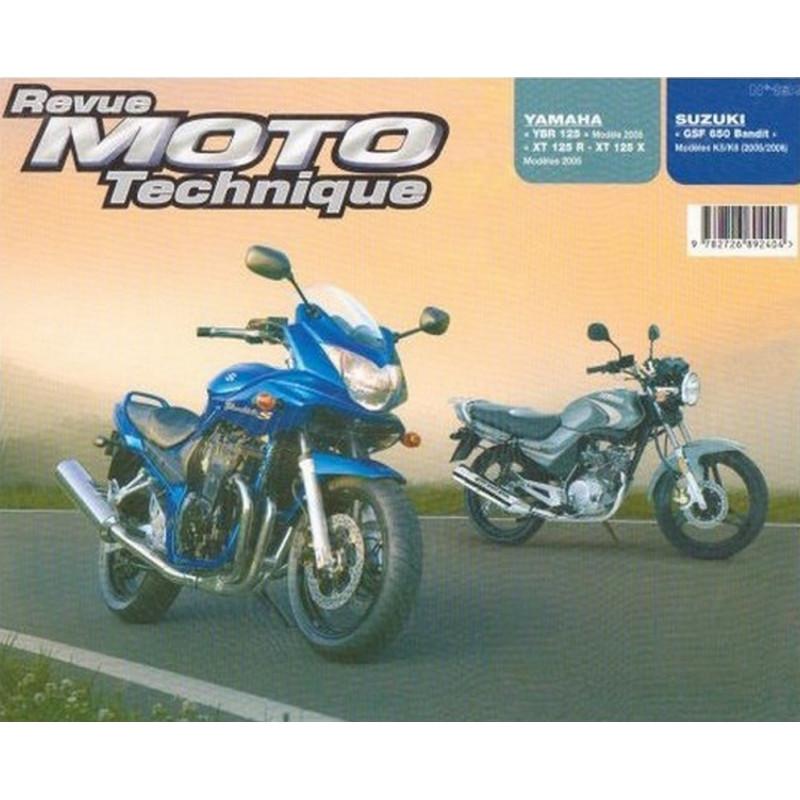 REVUE MOTO TECHNIQUE YAMAHA 125 YBR et DT de 2006 - RMT 139 Librairie Automobile SPE 9782726892404