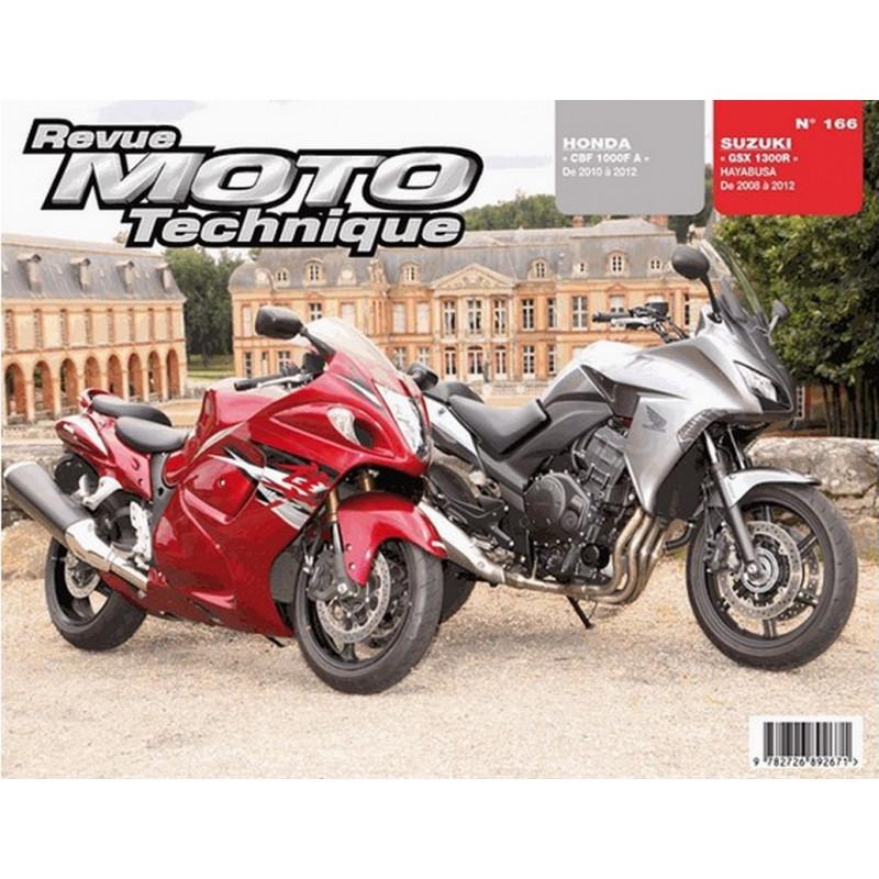 REVUE MOTO TECHNIQUE HONDA CBF 1000 de 2010 à 2012 - RMT 166 Librairie Automobile SPE 9782726892671