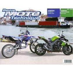 REVUE MOTO TECHNIQUE KAWASAKI Z1000 de 2010 et 2011 - RMT 163