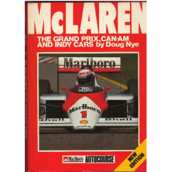 McLAREN THE GRAND PRIX, CAN-AM AND INDY CARS DOUG NYE CAR BOOK Librairie Automobile SPE McLAREN THE GP