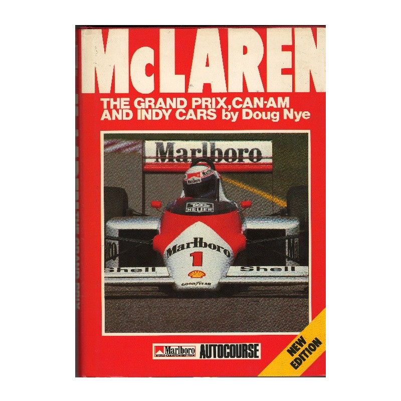 McLAREN THE GRAND PRIX,  CAN-AM AND INDY CARS / DOUG NYE-9780905138282