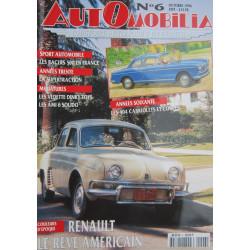 AUTOMOBILIA N°6 RENAULT LE REVE AMERICIAN Librairie Automobile SPE 3793310029003