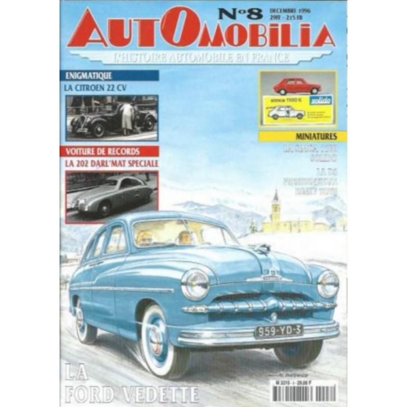 AUTOMOBILIA N°8 LA FORD VEDETTE Librairie Automobile SPE 3793310029003