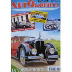 AUTOMOBILIA N°12 LA VOISIN AERODYNE Librairie Automobile SPE 3793310029003