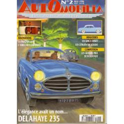 AUTOMOBILIA N°2 L'ELEGANCE AVAIT UN NOM... DELAHAYE 135 Librairie Automobile SPE 3793310029003