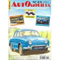 AUTOMOBILIA N°25 LES RENAULT DAUPHINE Librairie Automobile SPE 3793310029003