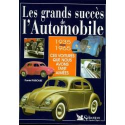 LES GRANDS SUCCES DE L'AUTOMOBILE 1935-1965, Ces voitures que nous avons tant aimées Librairie Automobile SPE 9782709807173