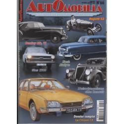 AUTOMOBILIA N°66 LA CITOREN CX Librairie Automobile SPE 3793310029003