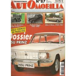 AUTOMOBILIA N°87  NSU PRINZ 1957-1973