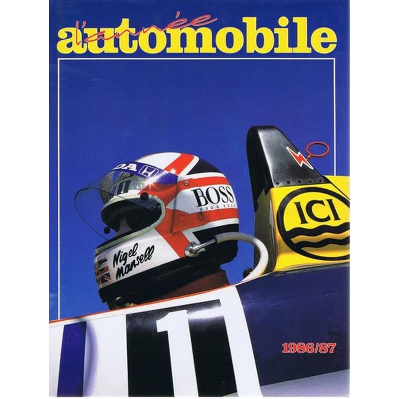 L'ANNÉE AUTOMOBILE N°34 1986-1987 Librairie Automobile SPE Annee34