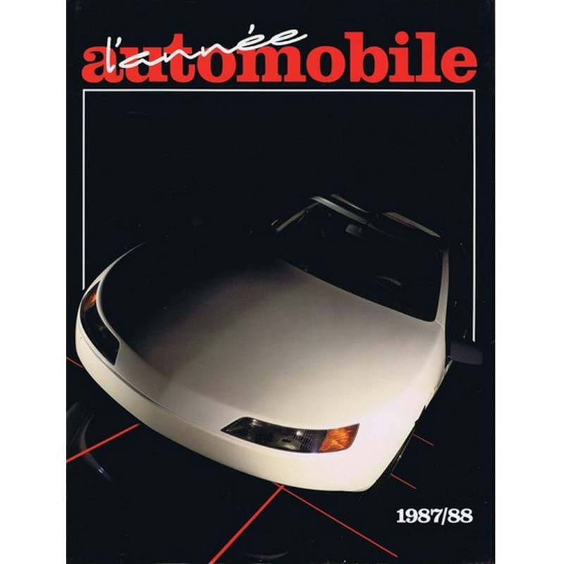 L'ANNÉE AUTOMOBILE N°35 1987-1988 Librairie Automobile SPE Anne35