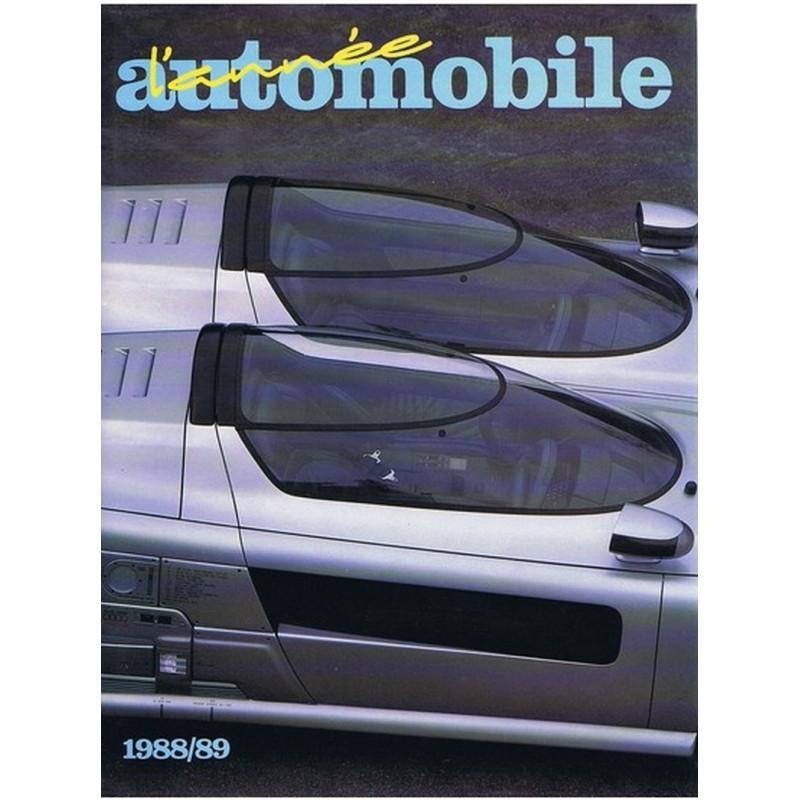 L'ANNÉE AUTOMOBILE N°36 1988-1989 Librairie Automobile SPE 9782883240001