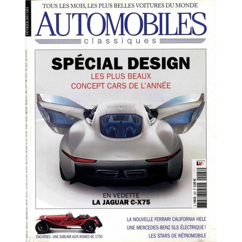 UNE ANNEE DE CONCEPT CAR - AUTOMOBILES CLASSIQUES N°203 Librairie Automobile SPE AC203