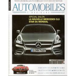 SPECIAL SALON 2010 - AUTOMOBILES CLASSIQUES N°199 Librairie Automobile SPE AC199