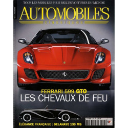 FERRARI 599 GTO - AUTOMOBILES CLASSIQUES N°195 Librairie Automobile SPE AC195