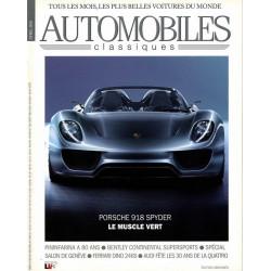 SPECIAL PORSCHE SALON DE GENEVE 2010 - AUTOMOBILES CLASSIQUES N°194