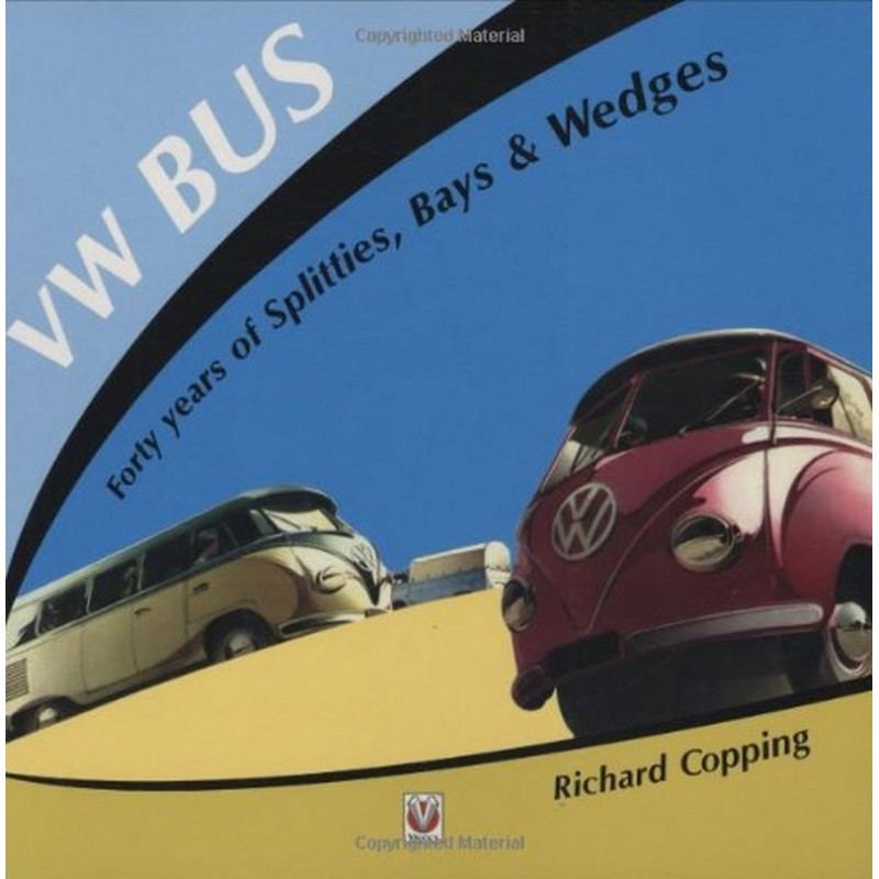 VW BUS Forty Years of Splitties Librairie Automobile SPE 9781845840259
