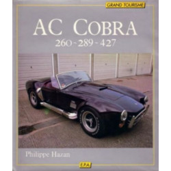 AC COBRA 260, 289, et 427 de Philippe HAZAN Librairie Automobile SPE 9782851202055