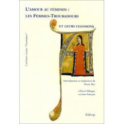 L'amour au féminin de FEMMES-TROUBADOURS Librairie Automobile SPE 9782857922131