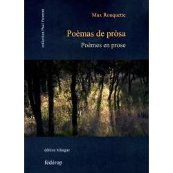 Poèmas en prose de Max ROUQUETTE