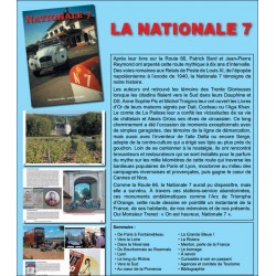 NATIONALE 7 de Patrick Bard et Jean-Pierre Reymond Edition SPE Barthelemy Librairie Automobile SPE 9782912838711 La-nationale-7