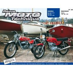 REVUE MOTO TECHNIQUE BULTACO SHERPA 125 / 250 et 350 - RMT 26