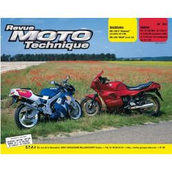 REVUE MOTO TECHNIQUE SUZUKI RG 125 de 1992 à 1996 - RMT 90 Librairie Automobile SPE 9782726890844